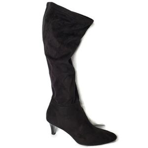 Tahari Tall Fabric Slouch Boots
